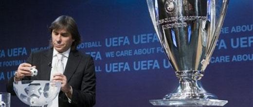 Losowanie Ligi Mistrzów i Ligi Europejskiej - liveblog!