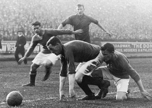 CFC vs LFC - Stamford Bridge 1913 rok